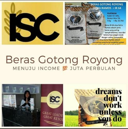 Daftar Agen Beras Gotong Royong di KedungBadak Bogor