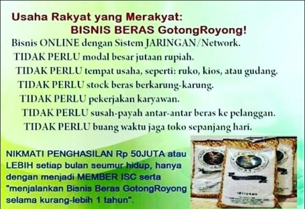 Daftar Agen Beras Gotong Royong di Menteng Bogor
