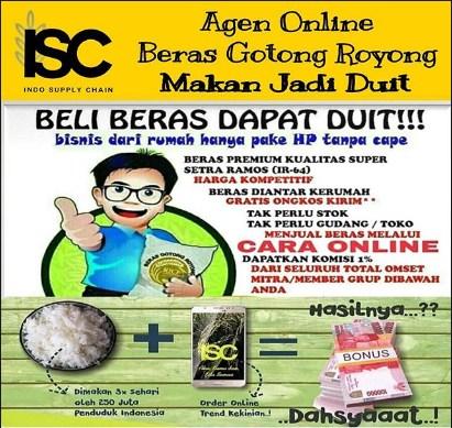 Daftar agen beras Gotong Royong di Cikaret Bogor
